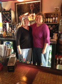 Shelley & Colleen, owners of Silly's