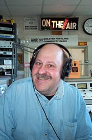 Steve Hirshon from WMPG's Hukkin' A Chainek, Thursdays, 6:30-9am