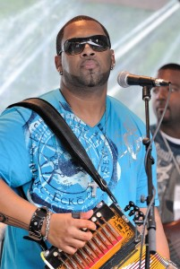 Zydeco star Chris Ardoin