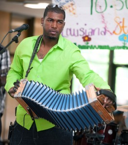 Lil Nathan Williams, red hot zydeco