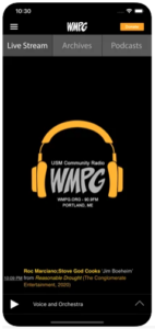 iphone with WMPG app